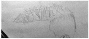 vkartbox hair drawing