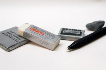 Types of Erasers Every Artist Should Know About
