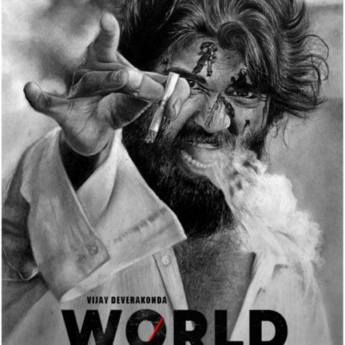 World famous lover poster drawing – vijay deverkonda
