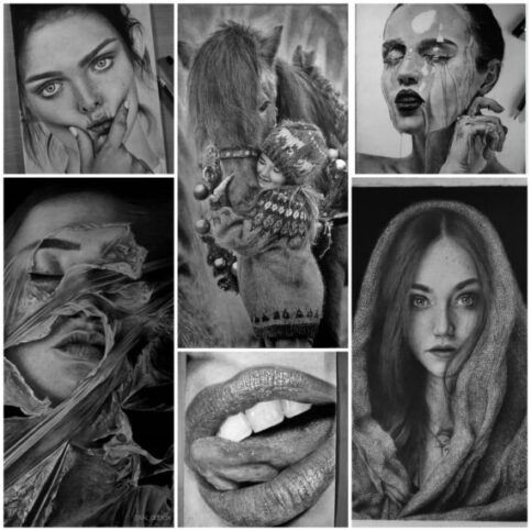 My Top 5 Hyperrealistic Drawing